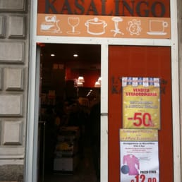 photo of outlet del kasalingo milano italy