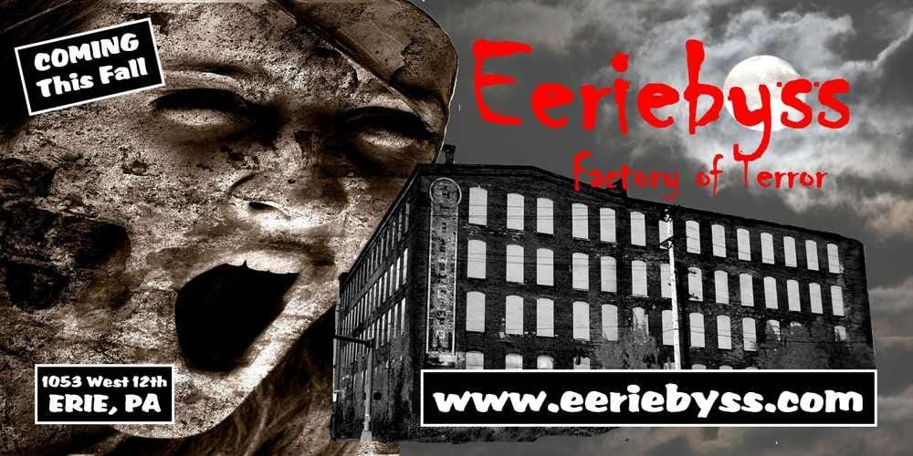 Eeriebyss Factory of Terror: 1053 W 12th St, Erie, PA