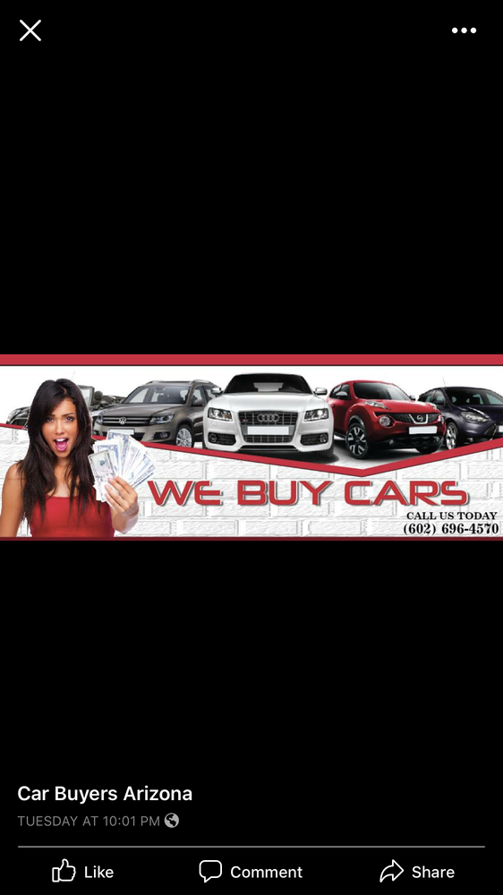 Car Buyers Arizona - Get Quote - Car Dealers - 7521 E Cannon Dr ...