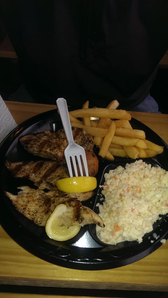 Grilled fish dinner plate yelp for Fish plates near me