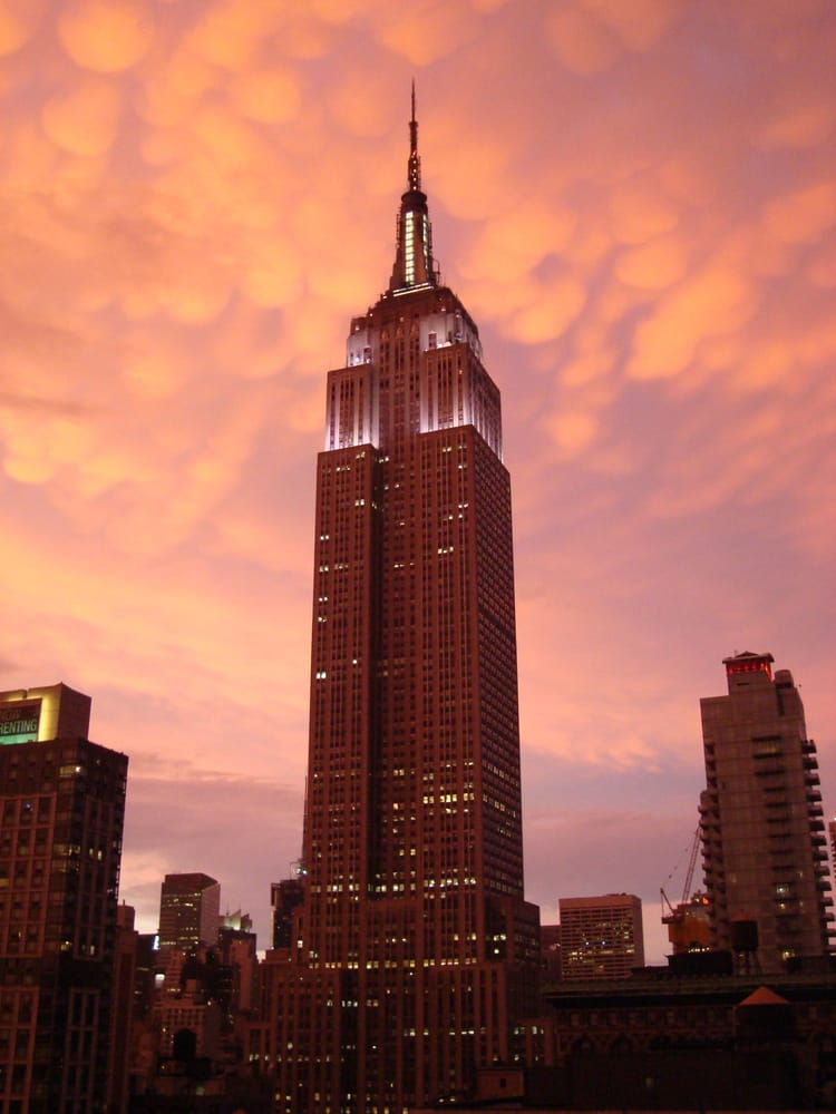 empire state building sunset - photo #3