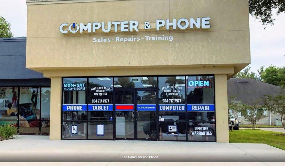Computer & Phone: 12230 San Jose Blvd, Jacksonville, FL
