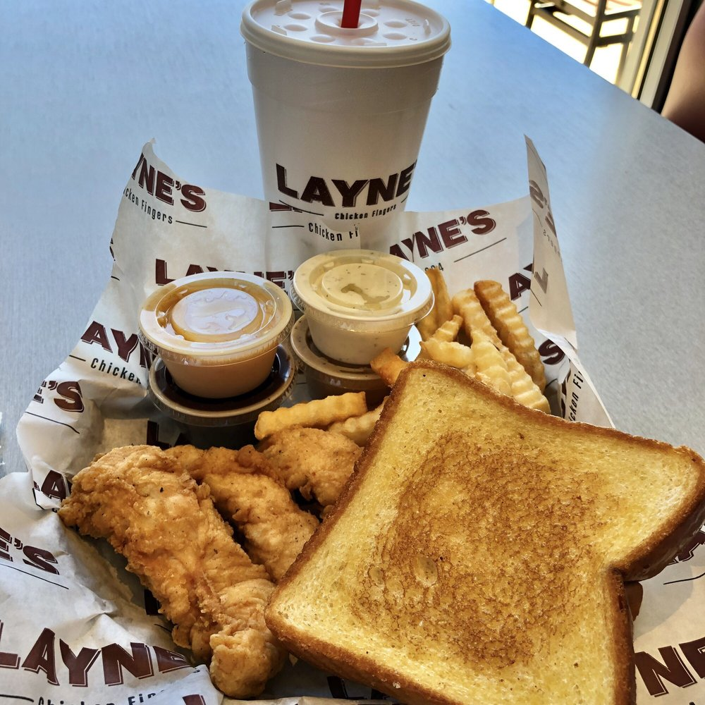Layne's Chicken Fingers: 102 Central Expy S, Allen, TX