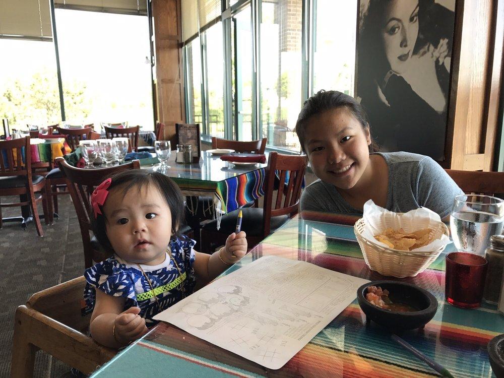 My Beautiful Daughters Enjoying Chips Amp Salsa Yelp