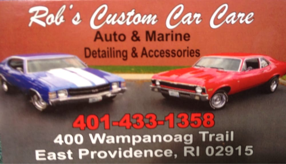 Rob's Custom Car Care: 400 Wampanoag Trl, Riverside, RI