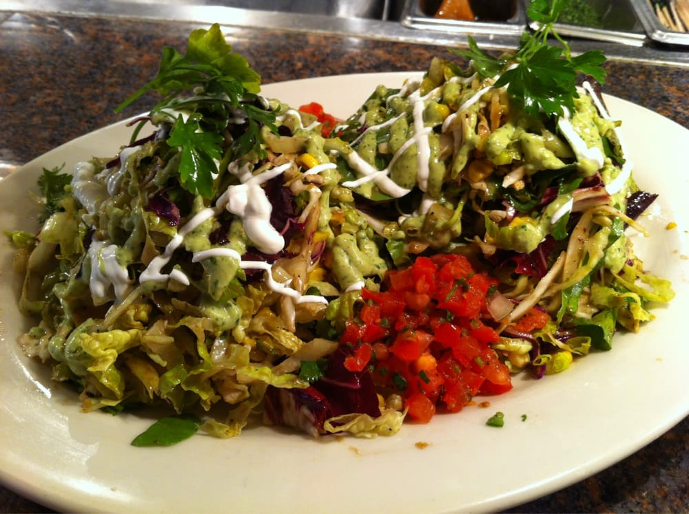 Grilled Chicken Tostada Salad - Yelp