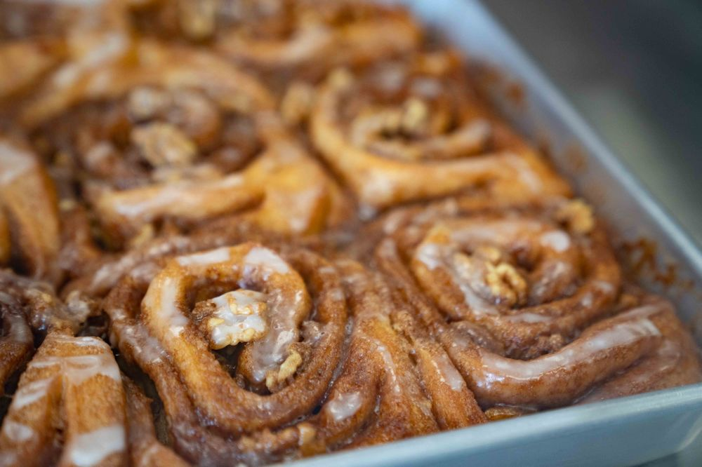 Social Spots from Spinners Cinnamon Rolls