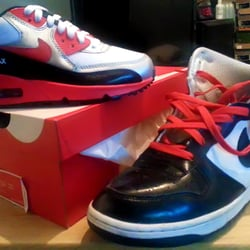 Photo Of Young S Sneaker City Philadelphia Pa United States Matching Kicks For