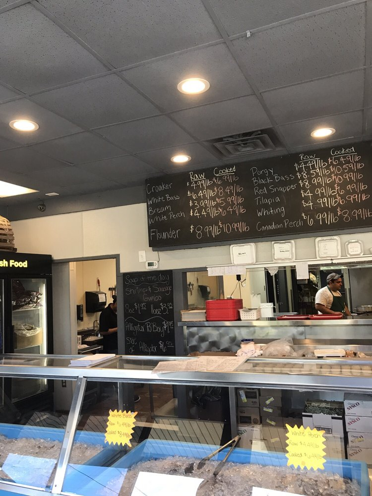 Today 39 s menu lunchtime yelp for Fish market charlotte nc