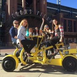 Photo Of Denver Patio Ride Co United States 6 Person Bike