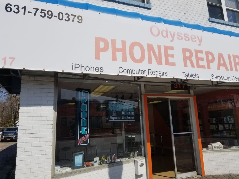 Odyssey Phone Repair: 317 Larkfield Rd, East Northport, NY