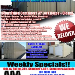 Aaa Container Sales And Rentals Self Storage 11120
