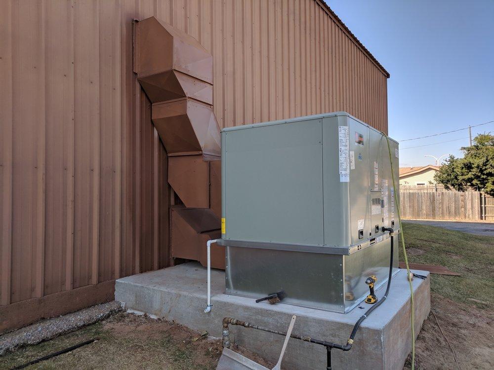 Hartzell's Heat & Air: 602 S Main St, Kingfisher, OK