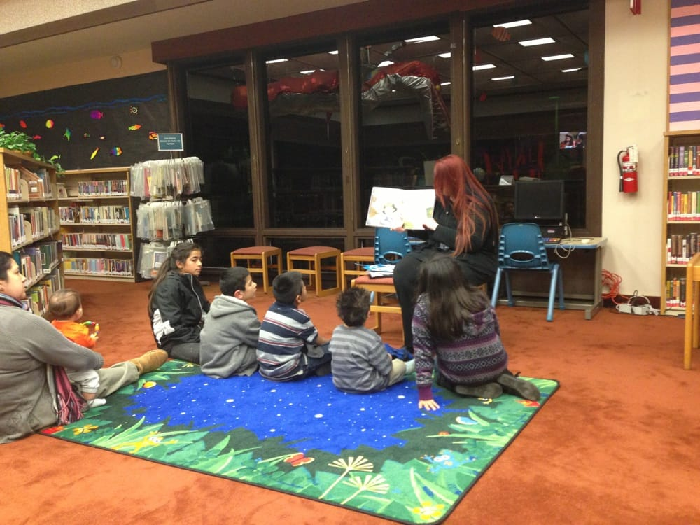 Story time every wed at 6 30 followed by a craft yelp for La county public library