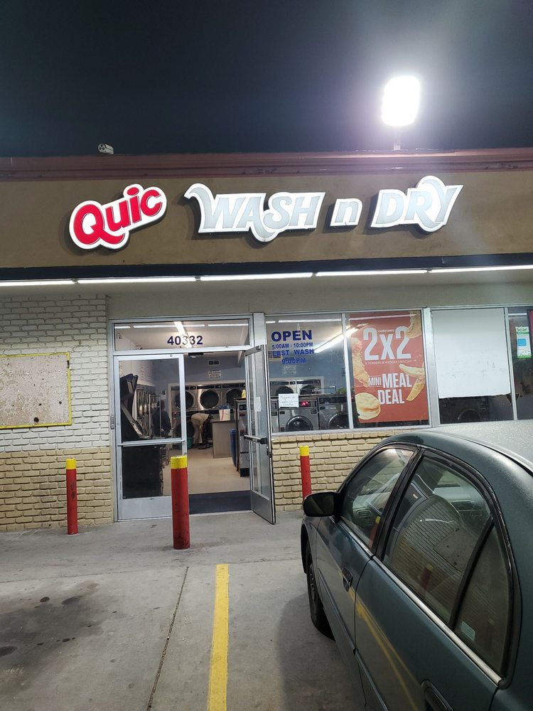 Quic Wash and Dry: 40332 Rd 128, Cutler, CA