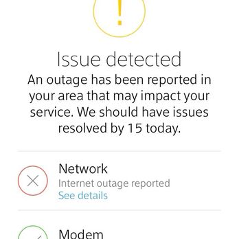 Internet outage in loveland co