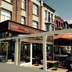 Restaurant ter rivierenhof 10 foto 39 s brasseries turnhoutsebaan 247 deurne antwerpen - Foto buitenkant terras ...
