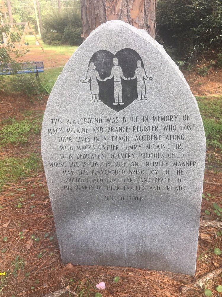 Macy-Brance Memorial Playground: 100 E Park St, Homerville, GA