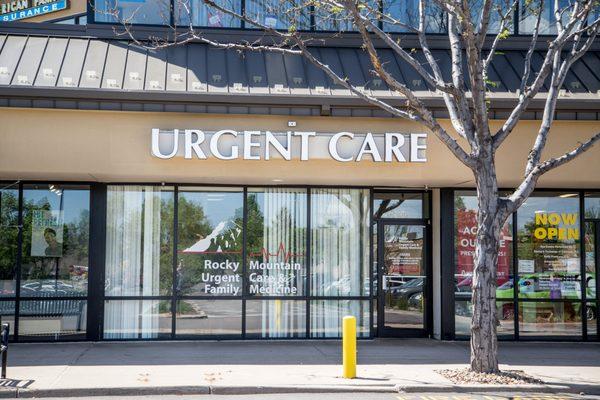 Rocky Mountain Urgent Care 4800 Baseline Rd Ste D106 Boulder Co