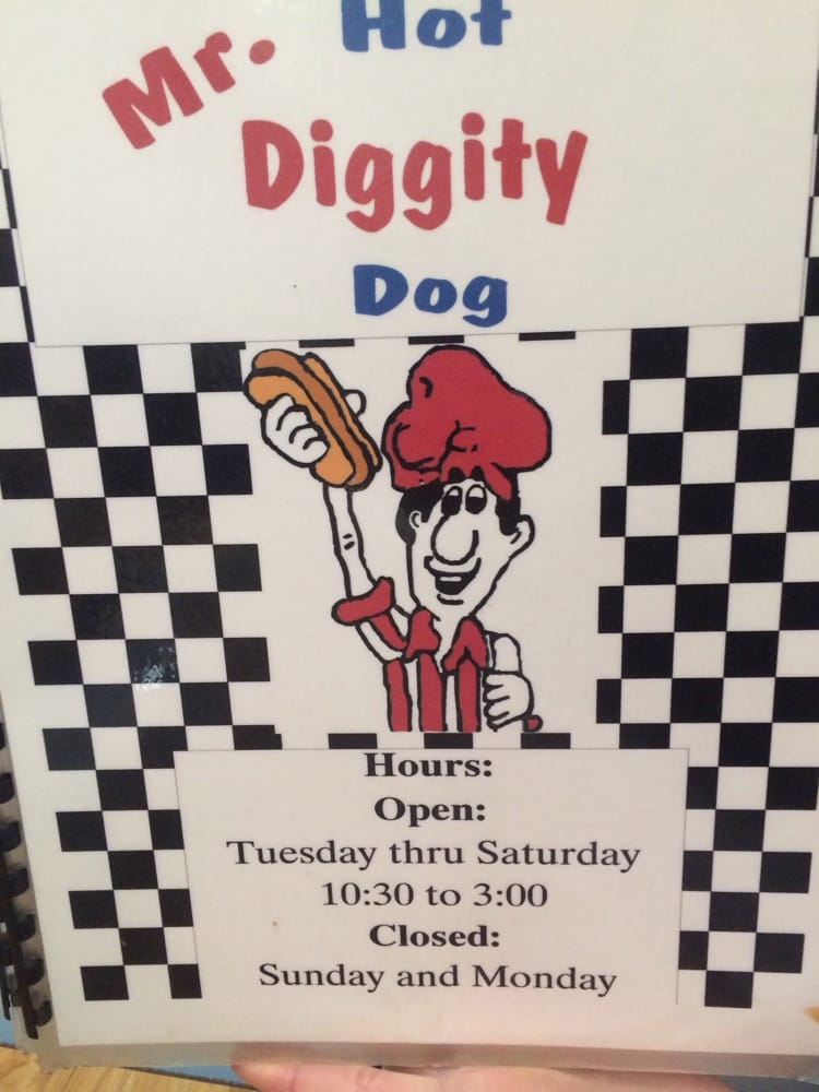 Food from Mr Diggity