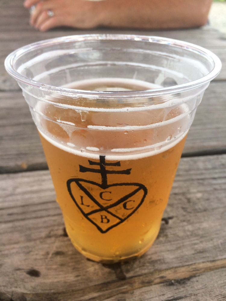 Lickinghole Creek Craft Brewery: 4100 Knolls Point Dr, Goochland, VA