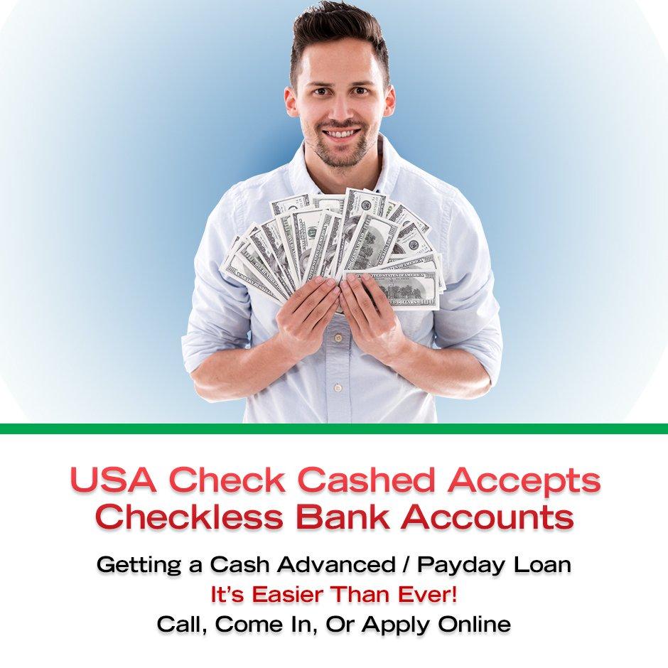 USA Checks Cashed