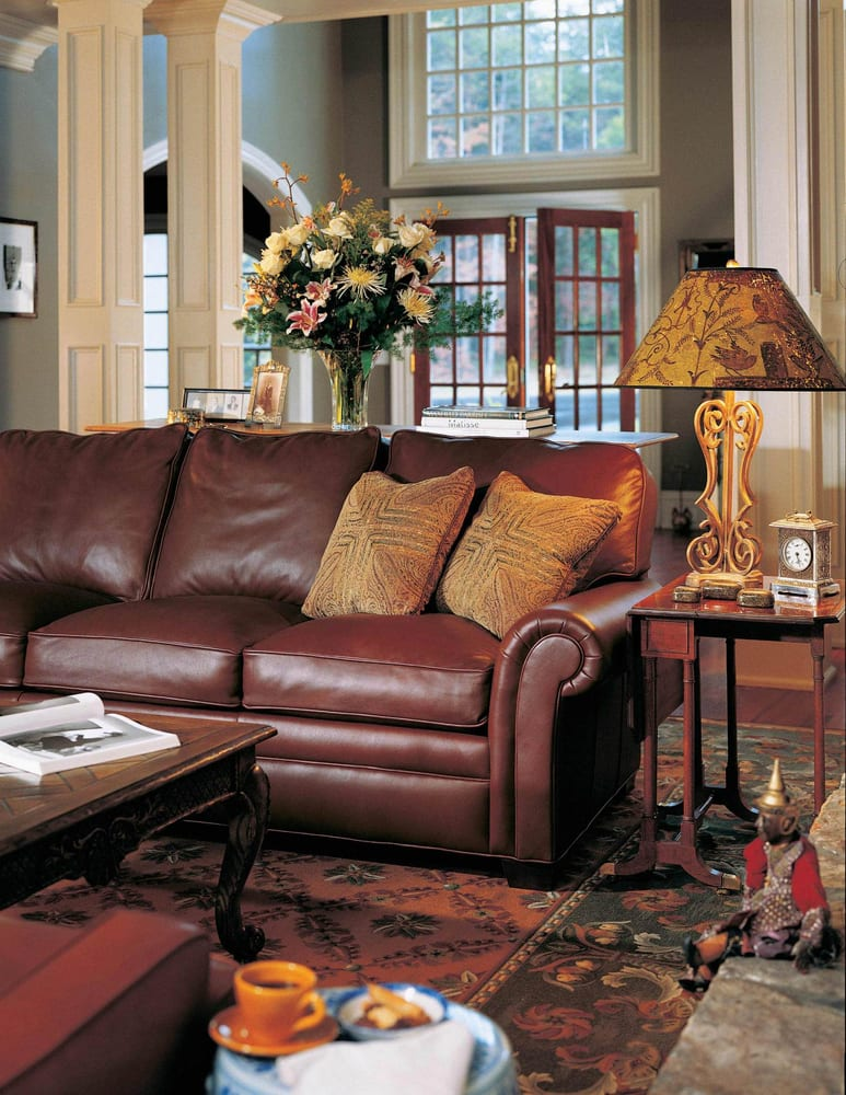 Living Room Furniture Stores Columbus Sherrill Sofa Kyser Furnishings A Furniture Store Serving