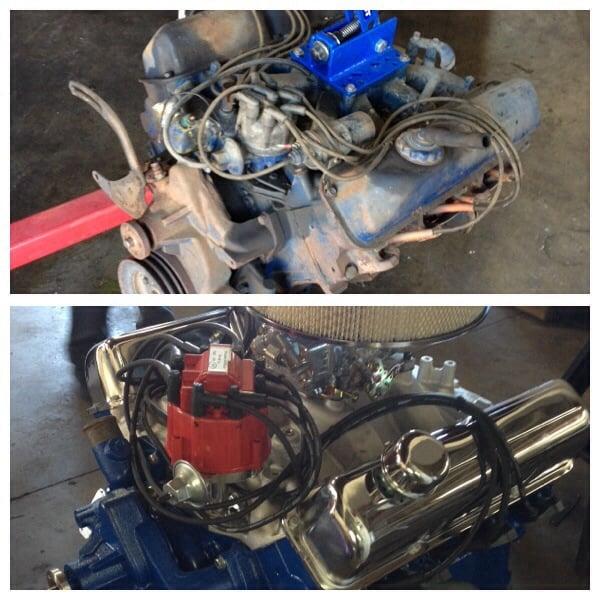 engine swap hot rods is doing for me ford 360 to a built ford 390 yelp. Black Bedroom Furniture Sets. Home Design Ideas
