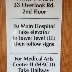 Photo Of Overlook Medical Center