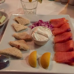 Sparkill Steakhouse - Sparkill, NY, United States. Scottish smoked salmon app. Great quality salmon, but the dish needed more ''oomph.''