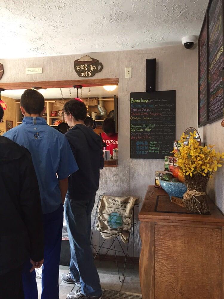 Higher Ground Coffee House: 230 Nc St, Pine Ridge, SD