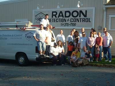 Radon Detection & Control: 4027 Jordan St, South Heights, PA