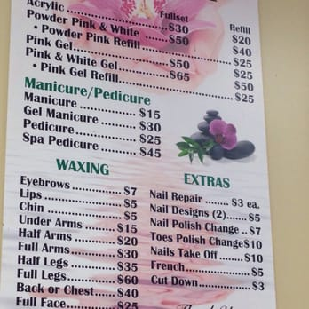 Photo Of Princess Nails Flemington Nj United States Here S A Price List