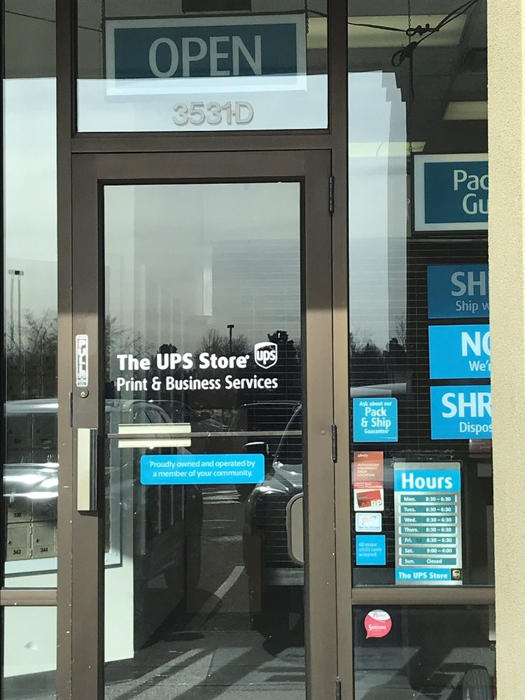 The UPS Store: 3531 S Logan St, Englewood, CO