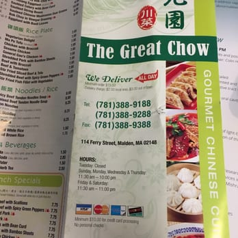 The Great Chow - CLOSED - 68 Photos & 34 Reviews - Chinese - 114 ...