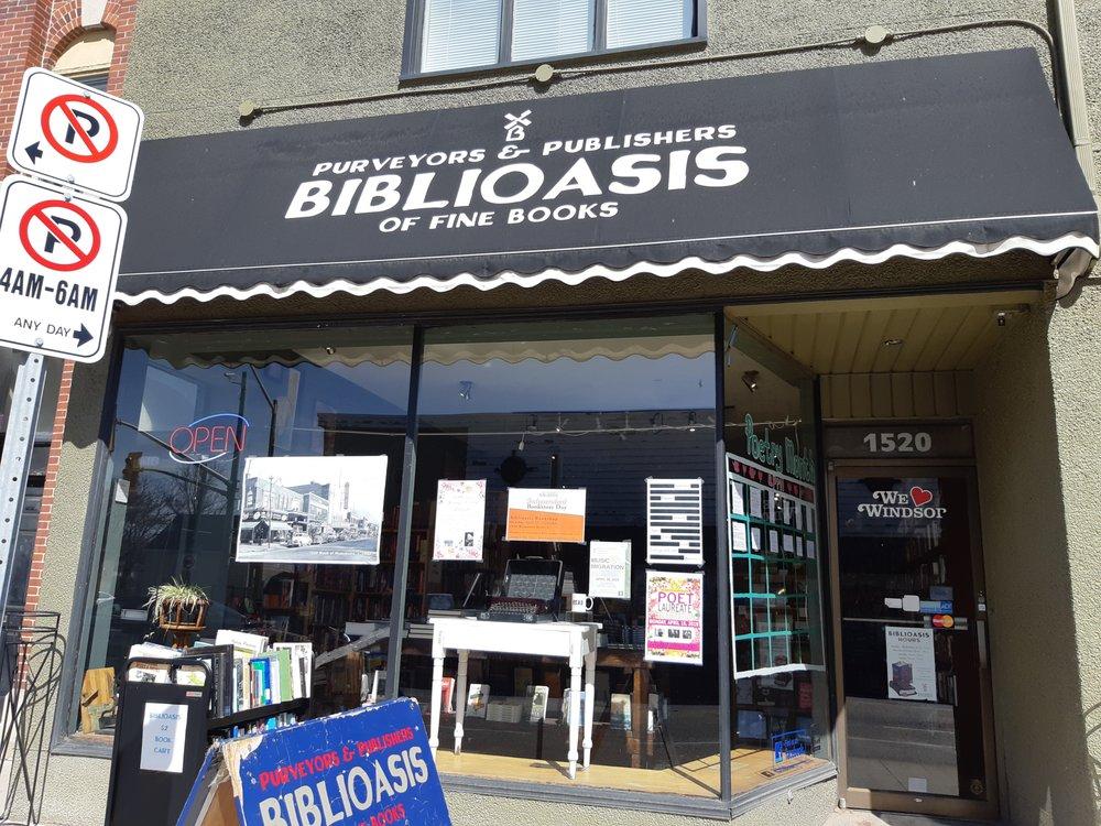 Biblioasis: 1520 Wyandotte Street E, Windsor, ON