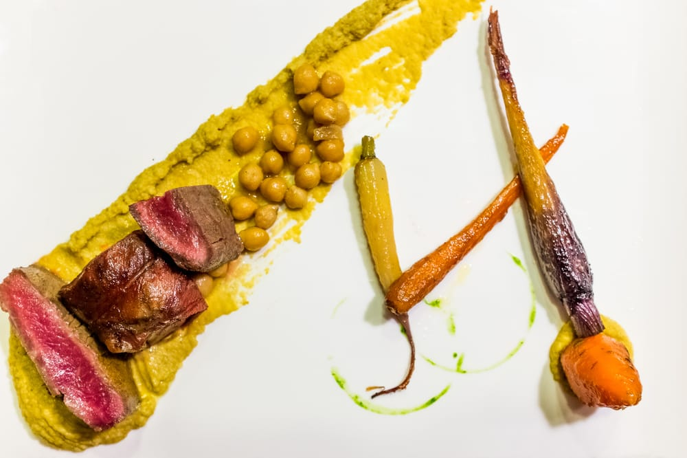 Lamb belly spicy hummus heirloom carrots yelp for Ampersand chicago