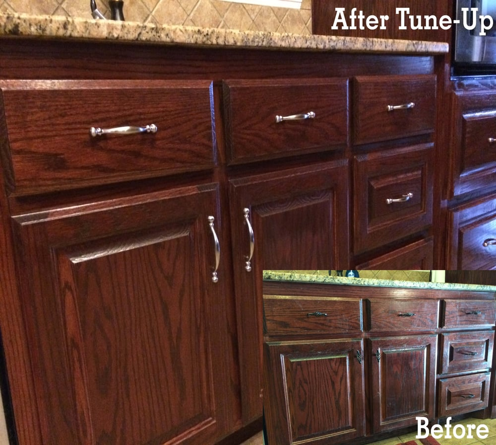 WHOEVER HEARD OF UPDATING YOUR KITCHEN IN ONLY ONE DAY