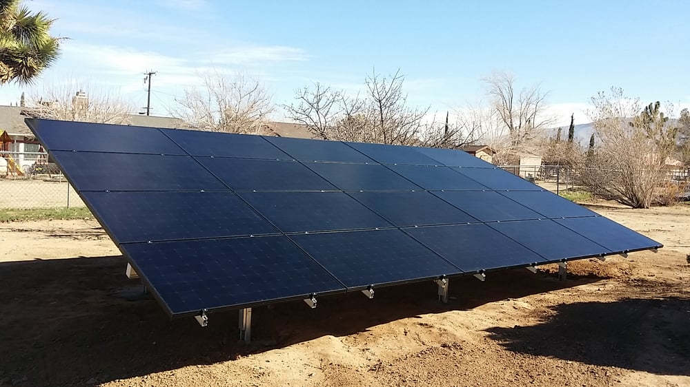 V's Solar Enterprise: 13991 Jicarilla Rd, Apple Valley, CA