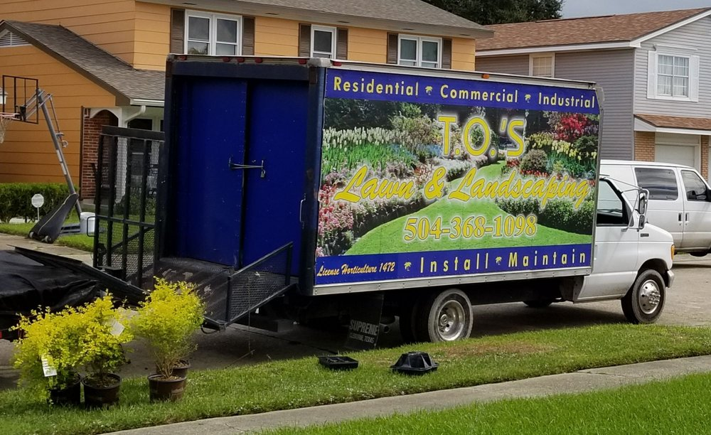 T O's Lawn & Landscaping: 1700 Engineers Rd, Belle Chasse, LA