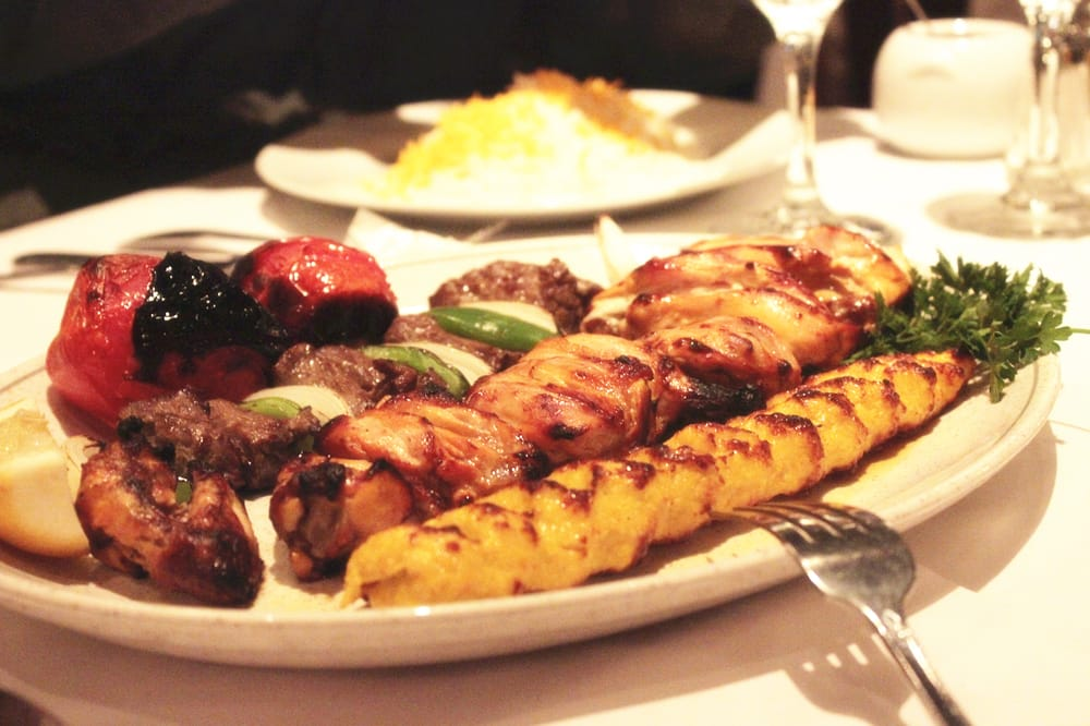 tomato duhhh shish kabob joojeh with bone chicken