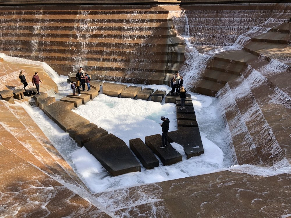 Fort Worth Water Gardens: 1502 Commerce St, Fort Worth, TX