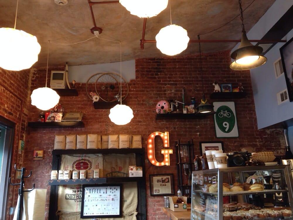 Gypsy Donut & Espresso Bar - Nyack, NY, United States. Small but cozy.