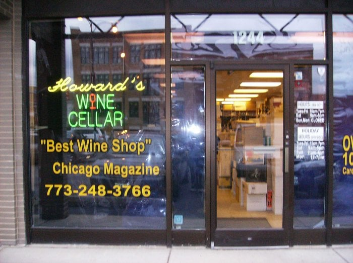Howard's Wine Cellar: 1244 W Belmont Ave, Chicago, IL
