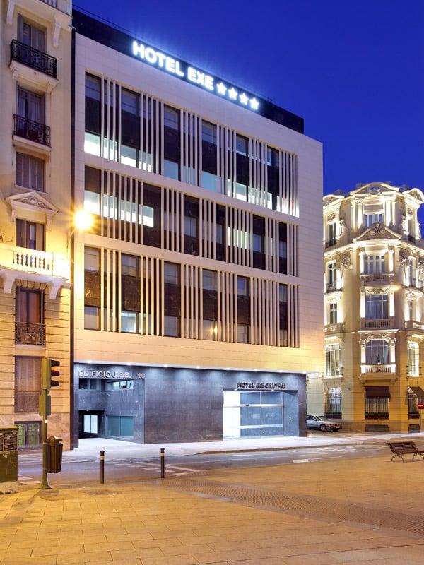 Hotel exe central h tels calle de mej a lequerica 10 - Exe central madrid ...