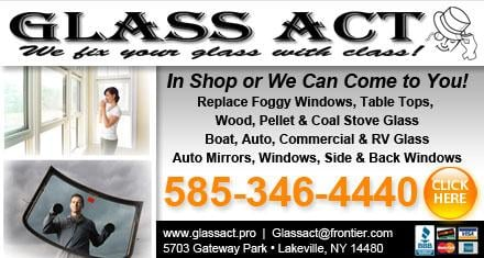 Glass Act: 5703 Gateway Park, Lakeville, NY