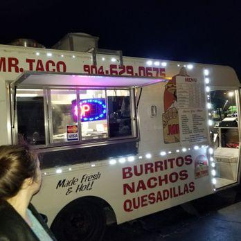 Mr Taco Food Truck Beach Blvd