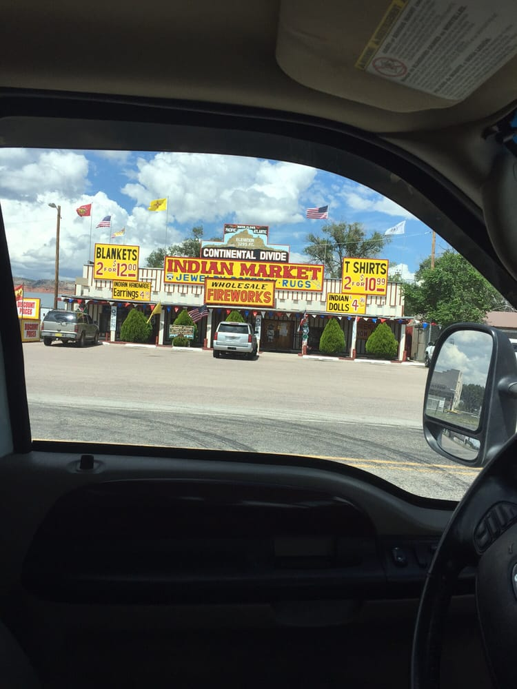 Indian Market: 11 State Highway 122, Continental Divide, NM
