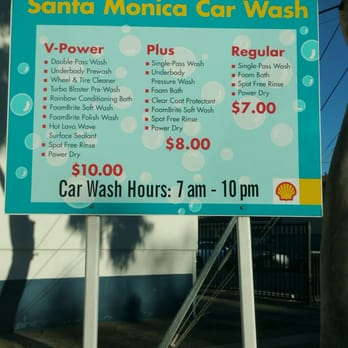 Cheapest Car Wash In Santa Monica