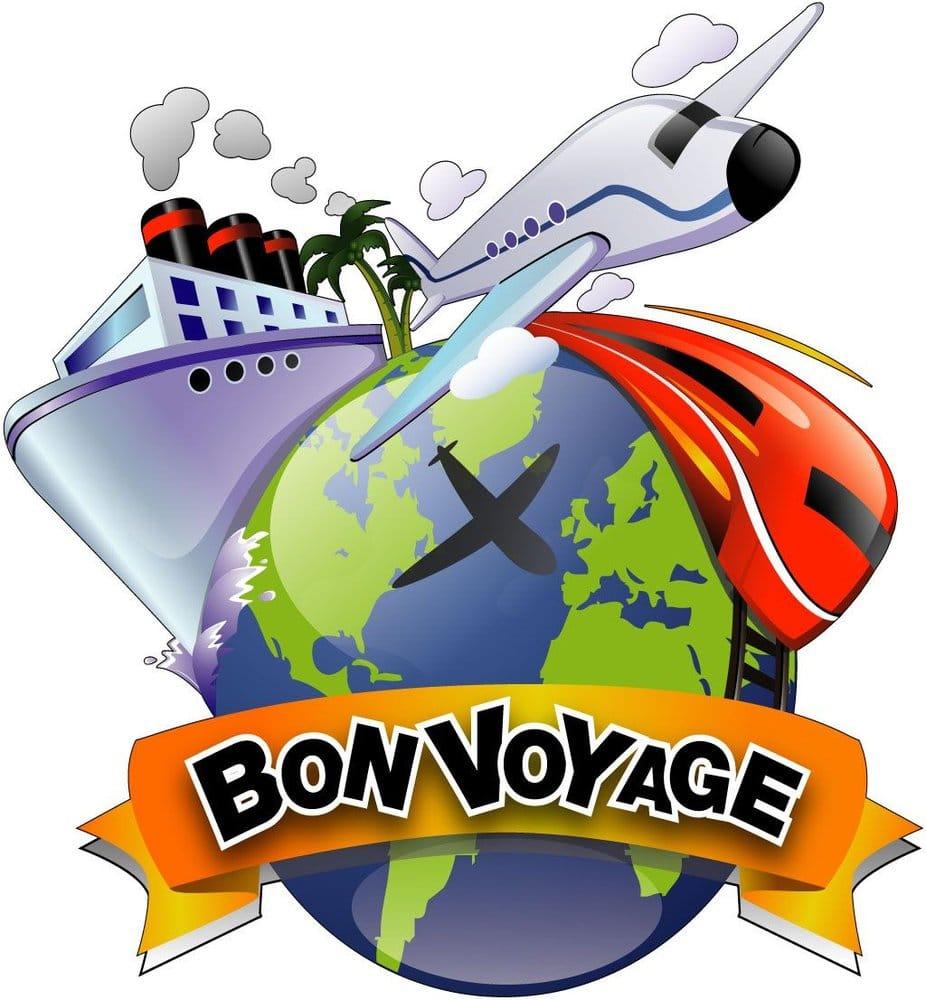 bon voyage logo yelp rh yelp com Bon Voyage Templates bon voyage clip art free
